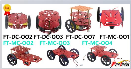 robot chassis 4wd smart robot car chassis kits for arduinos FT-MC-004