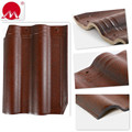 Coffee Brown Matte Connection Clay Roof Tile in Factory Cheap Price
