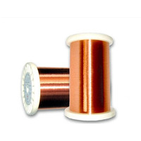enamelled round copper wires with high mechancial properties