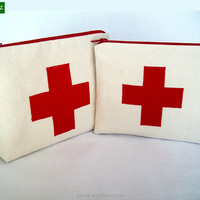 Wholesale Cotton Make Up Pouch Custom
