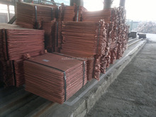 99.99% purity Electrolytic Copper Cathodes