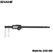 5130-300#shahe 15-300 mm vernier caliper digital inside groove digital caliper with knife edge messschieber measuring tools