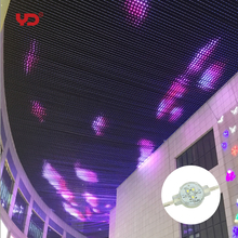 hot sale flexible led mesh curtain p100mm outdoor use