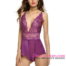 Cheap Romantic Ladies Undergarments Sexy Nighty Design