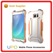 [UPO] Shockproof Military duty Metal Aluminum Mobile phone Case for Samsung galaxy Note 5 with glass