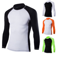 Men Long Sleeve Quick Dry Eco-Friendly basketball football cycling sport dry fit T shirt