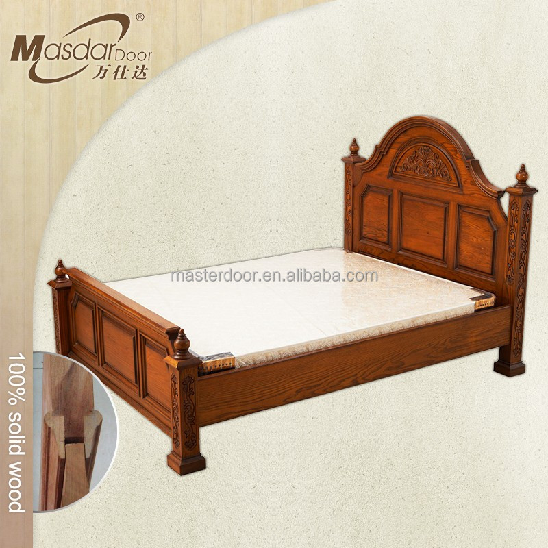 Indian new style rosewood double bed designs