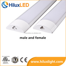 T8 2ft 20w 2835smd 120v Led Linear Light DLC ETL 110lm/w Ceiling/Hanging Led Lighting Bar PF>0.9 Ra>85 with 5 years warranty
