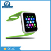 silicone rubber wrist Android smart watch phone with sim card socket