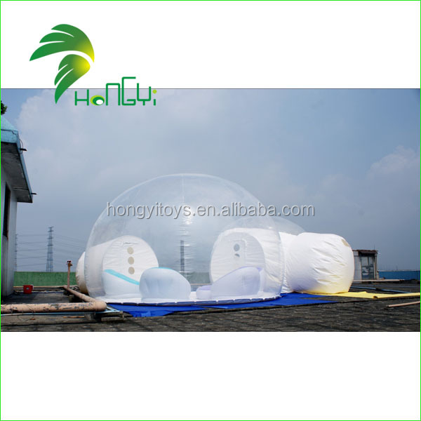 Lotting Wedding Inflatable Camping Transparent Bubble Tent