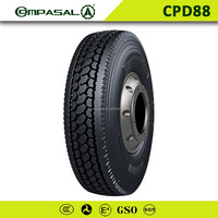 Heavy duty COMPASAL size 295/75r 22.5 truck tire