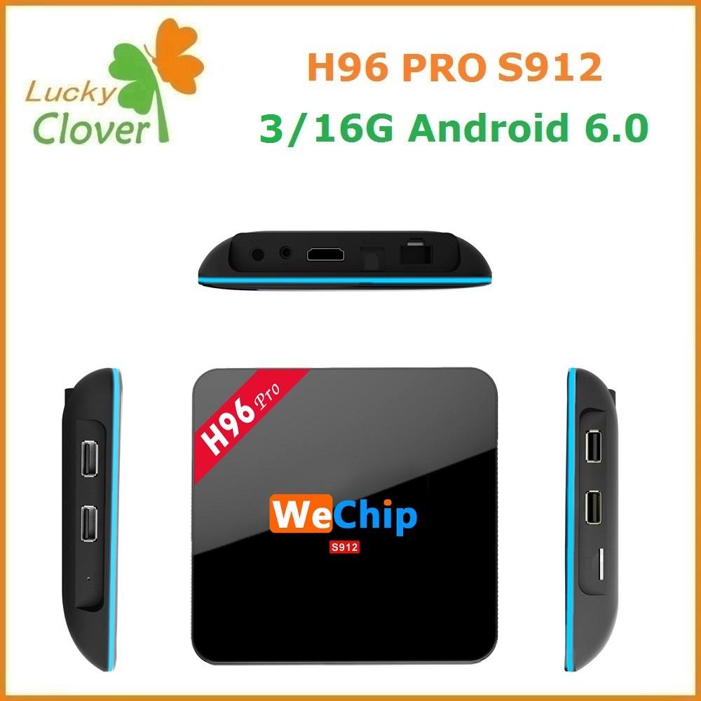 Latest 3GB Ram 16GB Rom online Free Live Tv Channels Kodi 16.1 4K 2K Full HD Android Tv Box H96 Pro