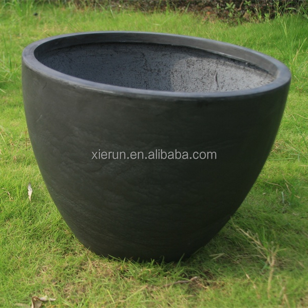 European style faux-cement flower box