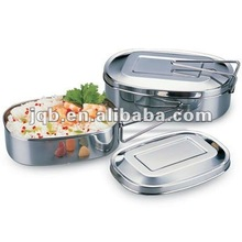 Hot Wholesale Stainless Steel Square Lunch Box