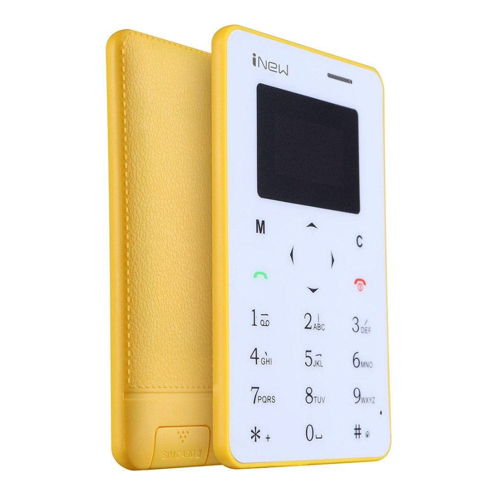 Cheapest android Smart Phone iNew Mini 1 Ultrathin Card Phone