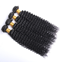Natural color virgin brazilian afro kinky curly hair,100% unprocessed tight curly hair extension
