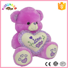 Factory custom kids gifts sublimation teddy bear t shirt without PP cotton cheap toys