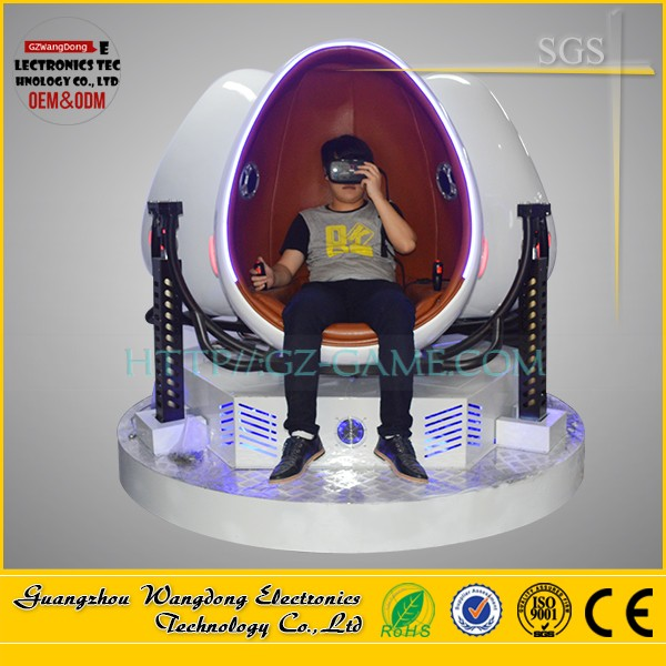 New technology game machine 9d vr egg cinema with mobile computer desk 7d cinema equipment for sale