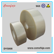 2017 comofaje PET low viscosity waste discharge protective film for rotary die cutting machine
