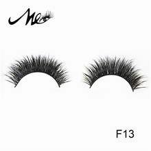 NEW clear invisible band 3d mink fur false eyelash
