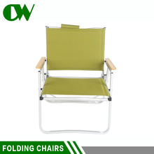 Superior customer care fold up telescopic used outdoor camping folding beach chairs for air travel