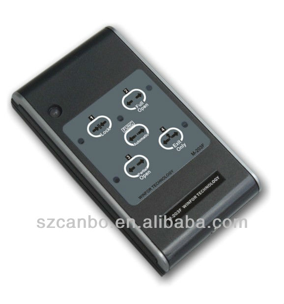 Autodoor Five-range Programmed Wall Switch