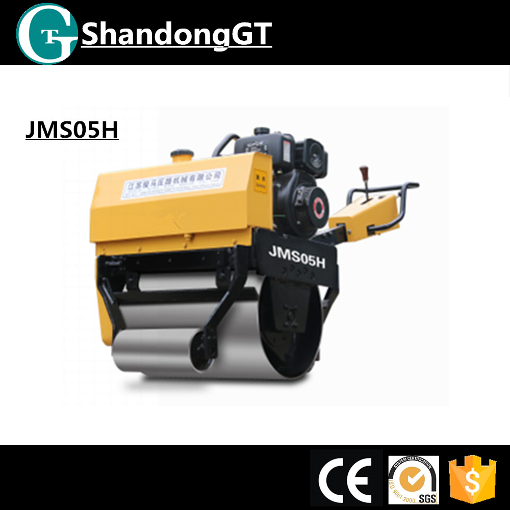 Mini road roller/mini tractor price/ small road roller machine