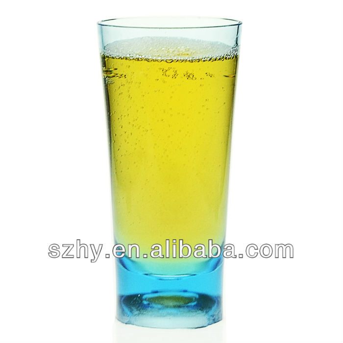 Polycarbonate highball plastic glass