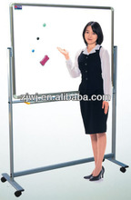 YDB-001 movable green board white double sided magnetic whiteboards with stand meeting board