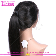 New arrival silky straight full lace wig wholesale cheap high pony tail full lace wig lace wig for black women