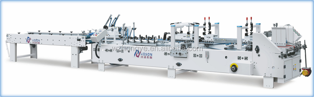ZH-880PFT Automatic Medicine Cardboard Box Pre-Folding and Gluing machine