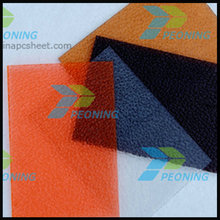 Colored 1mm -10mm embossed solid polycarbonate sheet sun sheet plastic sheet