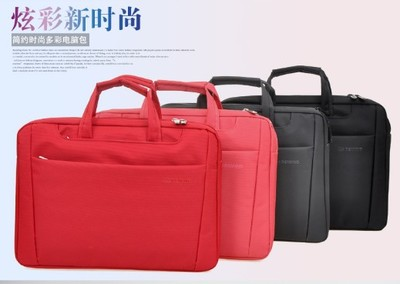 Business travel fancy polyester women laptop breifcase with high quality