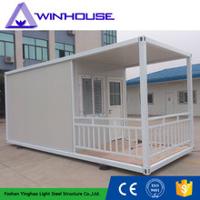 Acid Resistance Latest Design Modular Container Hotel Room