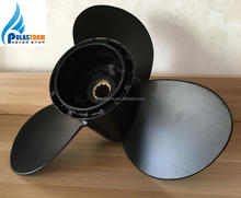 3 Blade Aluminum Outboard Propeller For BRP JOHNSON EVINRUDE Engine 15-35HP