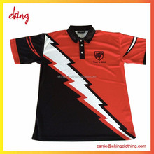 wholesale Custom Design polyester spandex sublimation dry fit Polo shirt for man
