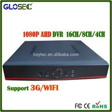 Factory price H.264 CCTV DVR 8CH embedded dvr software With Mobile Surveillance