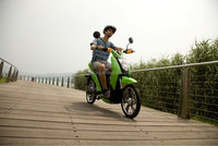 Buy electric motorcycle--Haoling lithium ion charging road OEM powerful electric motorycle with pedal assistant