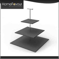 Fast Delivery Square Multi-layer Cake Stand
