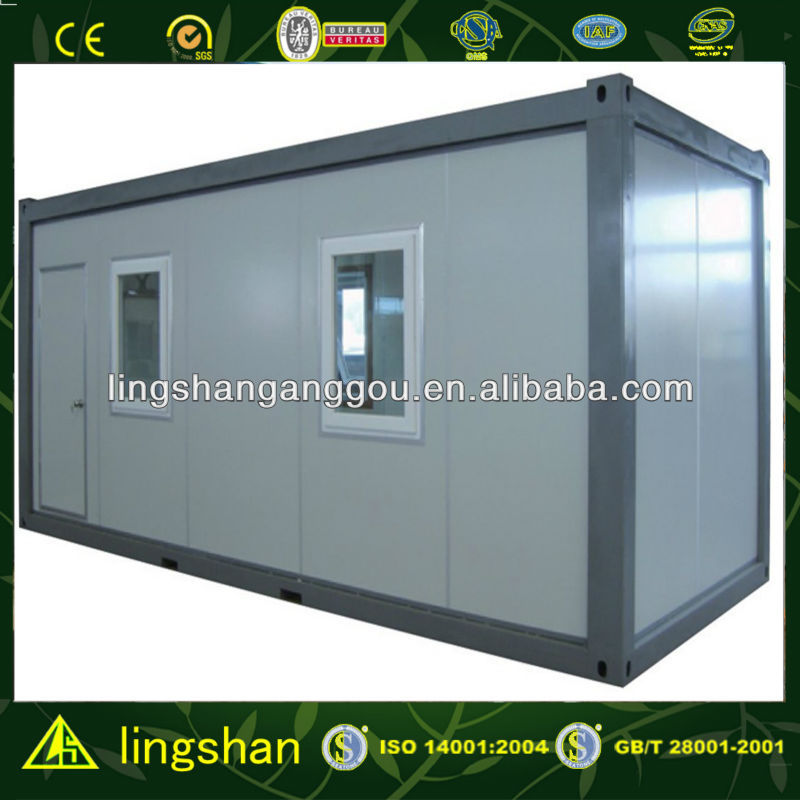 Easy assemble 20 fit Flat Pack Container House--ISO9001:2008