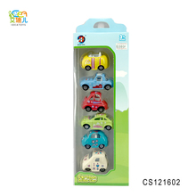 Hot sale 1:64 diecast model car cartoon mini slide alloy car for baby