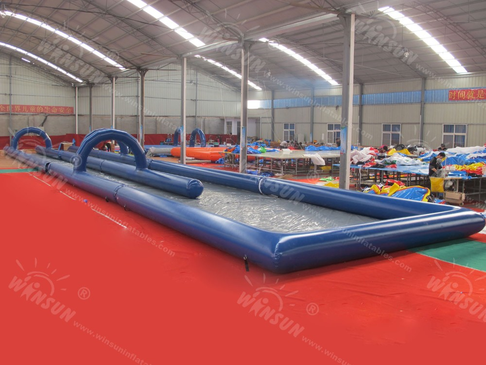1000 ft slip n slide,slide the city,double lane slip n slide for adult