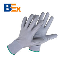 Factory price safety gloves PU coated
