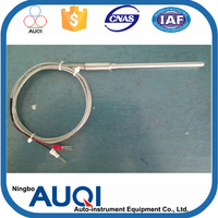 High temperature platinum thermocouple, flexible thermocouple for melting furnace, quick gas safety valve thermocouple valves