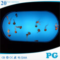 PG Transparent Acrylic Cylinder Fish Tank Wholesale