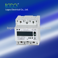 Digital watt hour metermulti-function energy meter Modbus wiring rs485 electric meter energy meter kilowatt meter