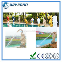 Water curtain for swimming pool and spa pool waterfall
