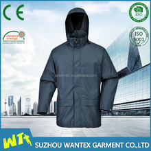 hot mens 100% polyester parka workwear winter padding work jackets with hood