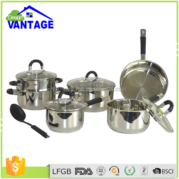 CE Certificate Approved Long Life Time Good Warranty Commercial New Product Stainless Steel Kitchen Ware