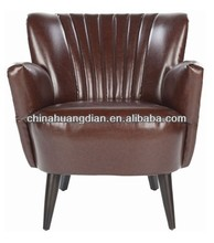 comfortable upholstered wooden armchair HDL1482